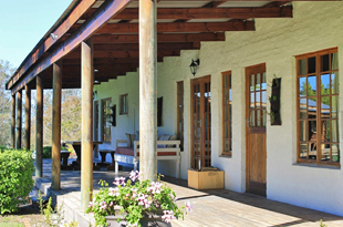 Self-catering Plett cottage - Honeybadger lodge