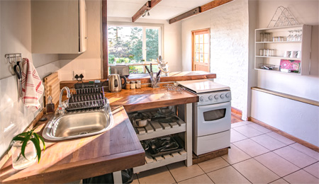 Plettenberg Bay chalet for a family - relax on Honeybadger's stoep