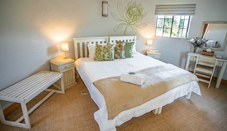 Plettenberg Bay bed and breakfast - silo rooms