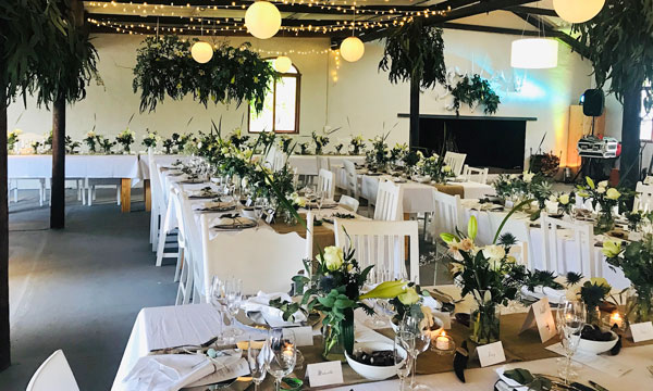 Party venue Plettenberg Bay - great country setting and luxury facilities.